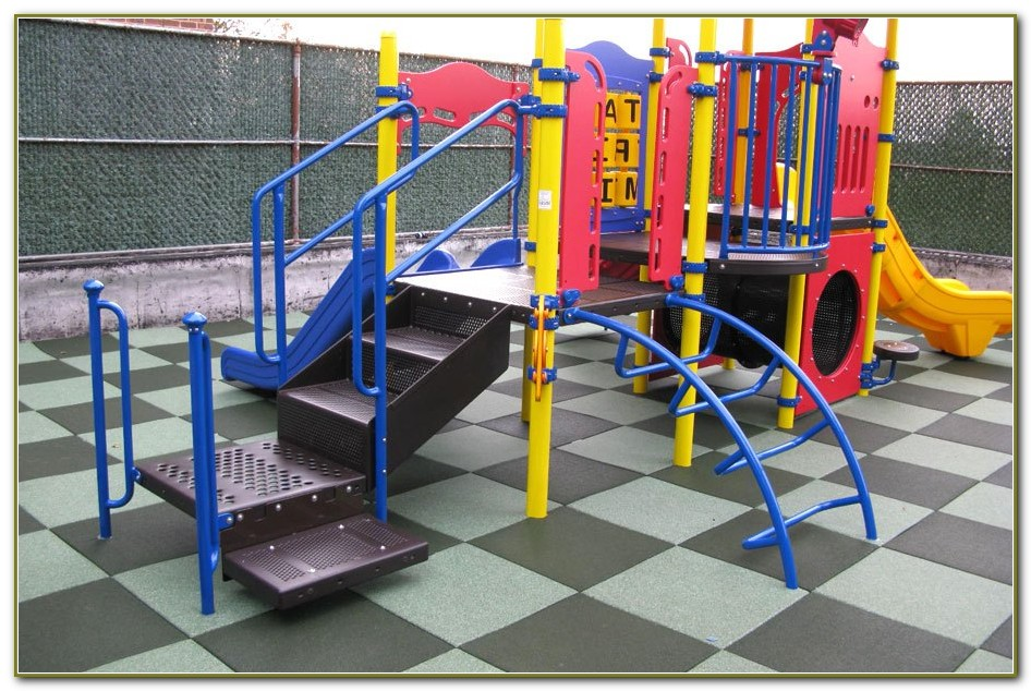 Rubber Tiles For Playground