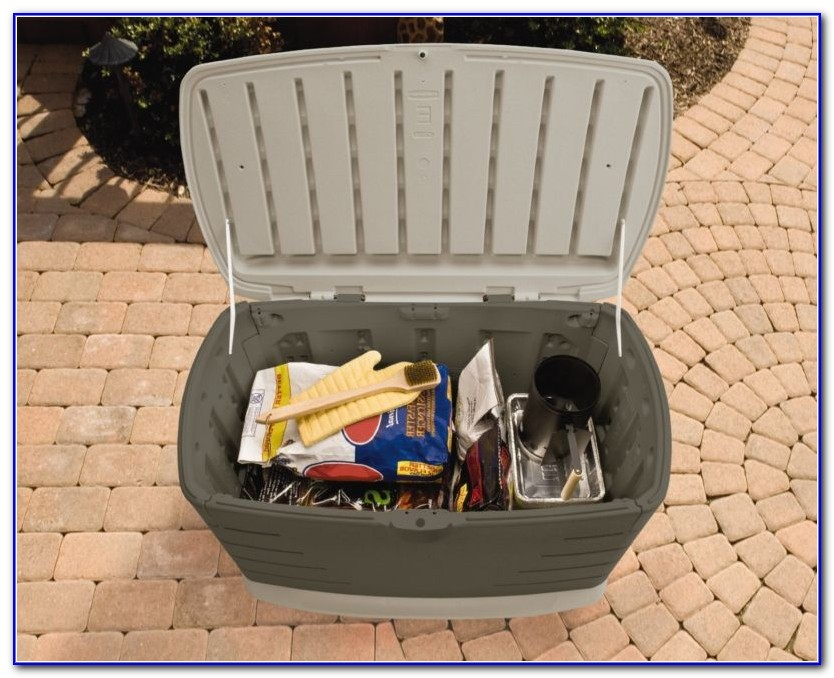 Rubbermaid Deck Box Assembly