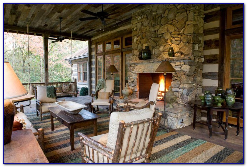 Rustic Porches And Decks