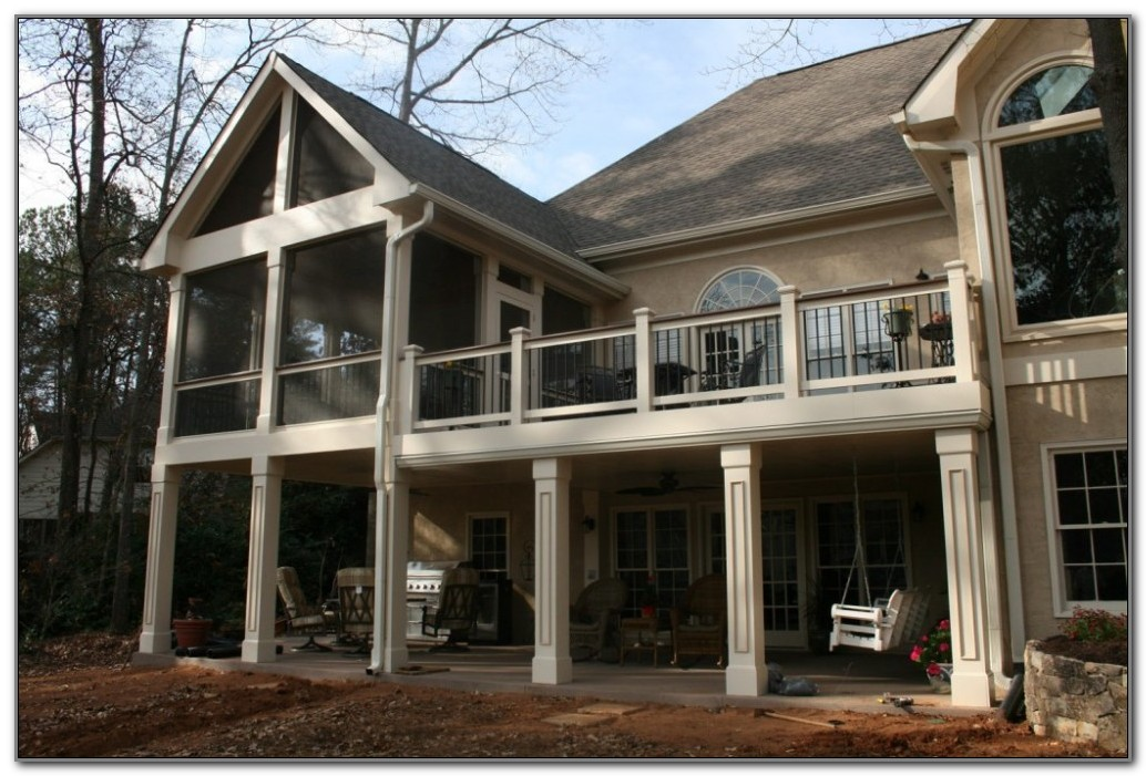 Screened In Porch And Deck Plans
