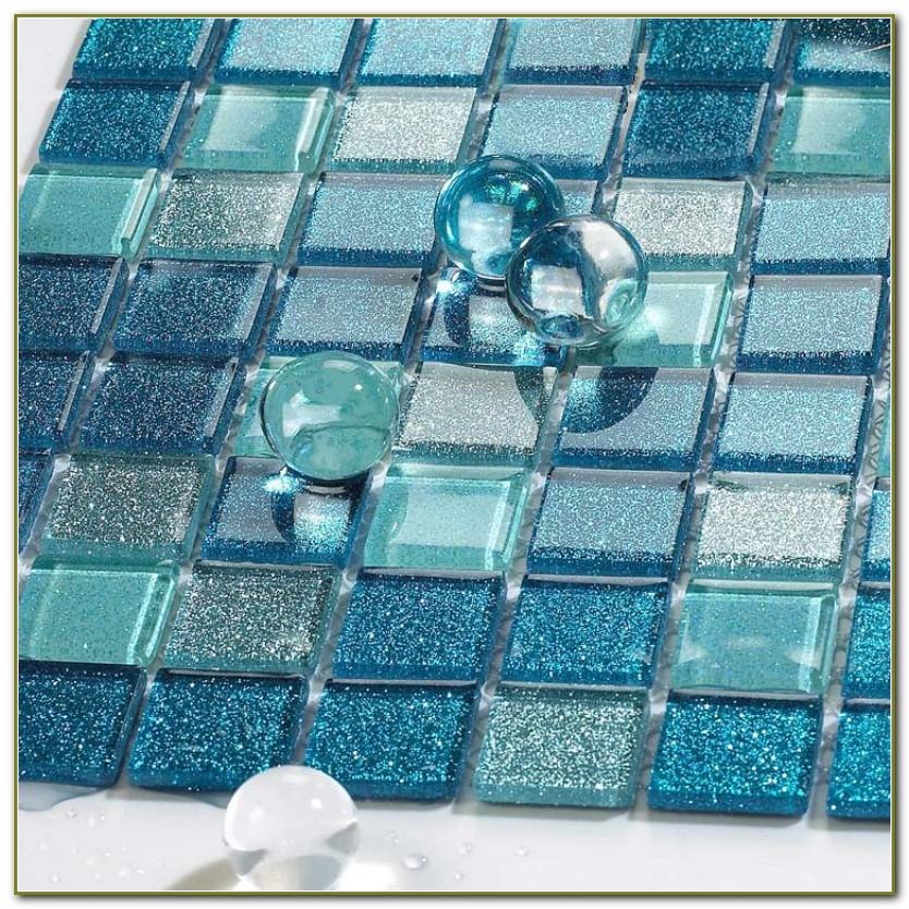Sea Glass Mosaic Tile Sheets