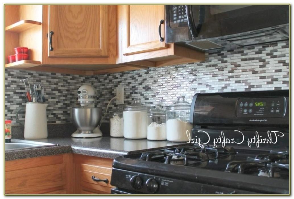 Self Stick Backsplash Tiles Kitchen