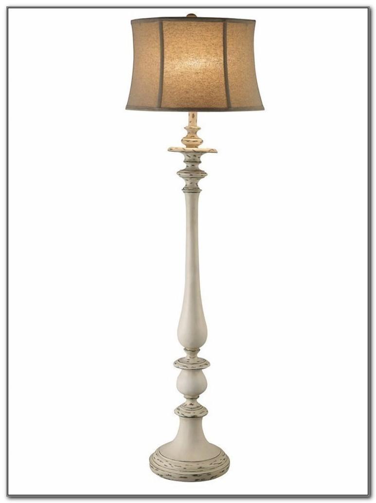 Shabby Chic Floor Lamp
