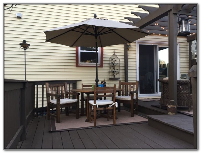 Shade Over Deck Ideas