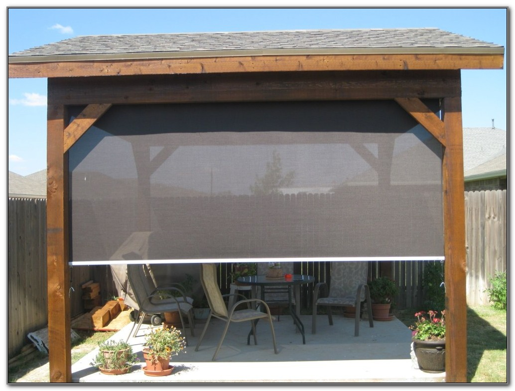 Shade Screens For Patio