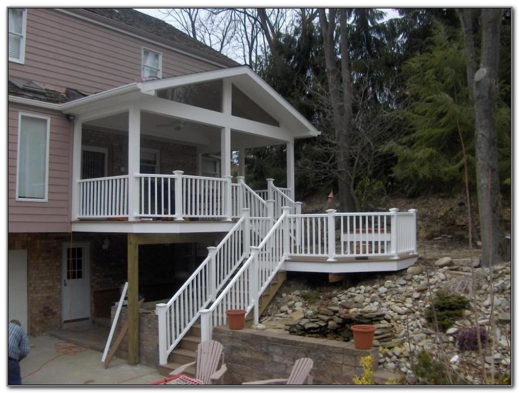 Small Back Porch Deck Ideas