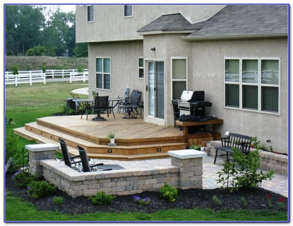 Small Backyard Decks Patios