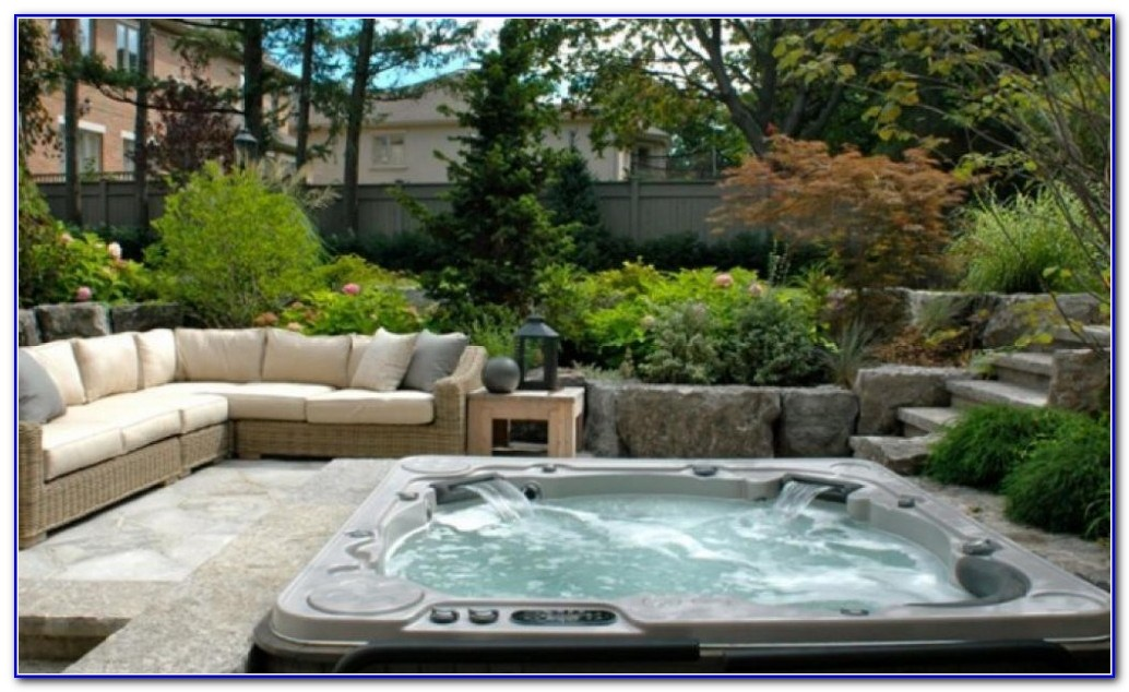 Small Backyard Decks With Hot Tubs