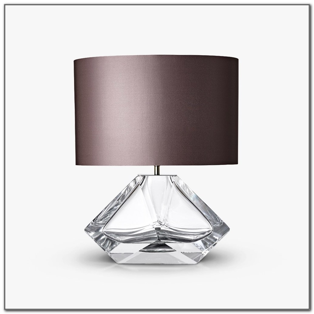 Small Brushed Nickel Table Lamp