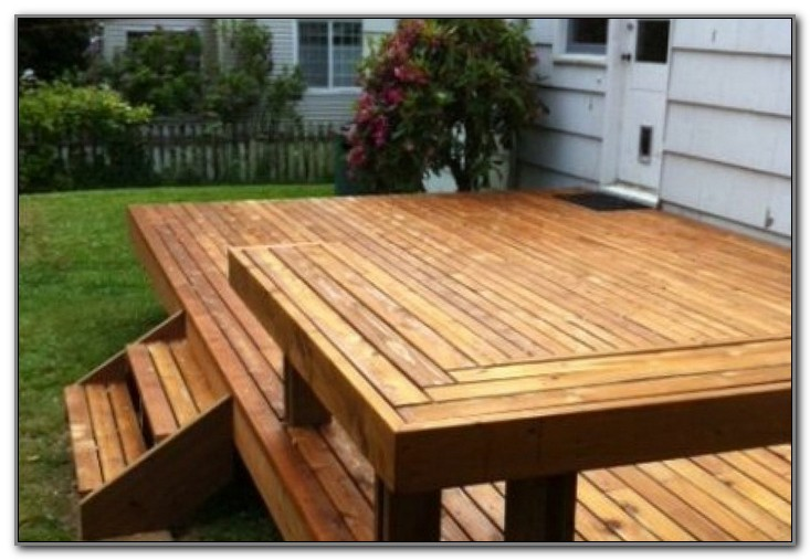 Small Deck For Mobile Home