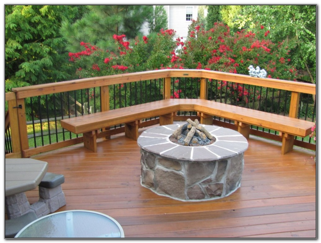 Small Fire Pit For Wood Deck