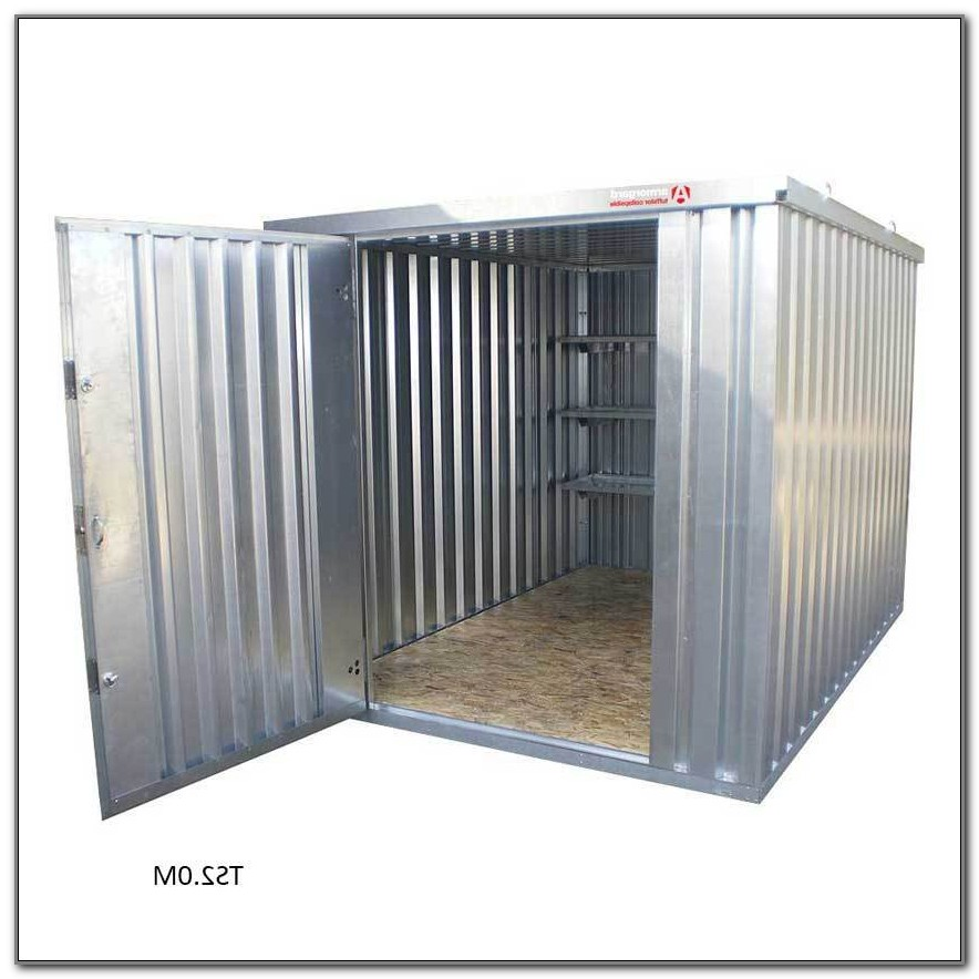 Small Outdoor Metal Storage Box