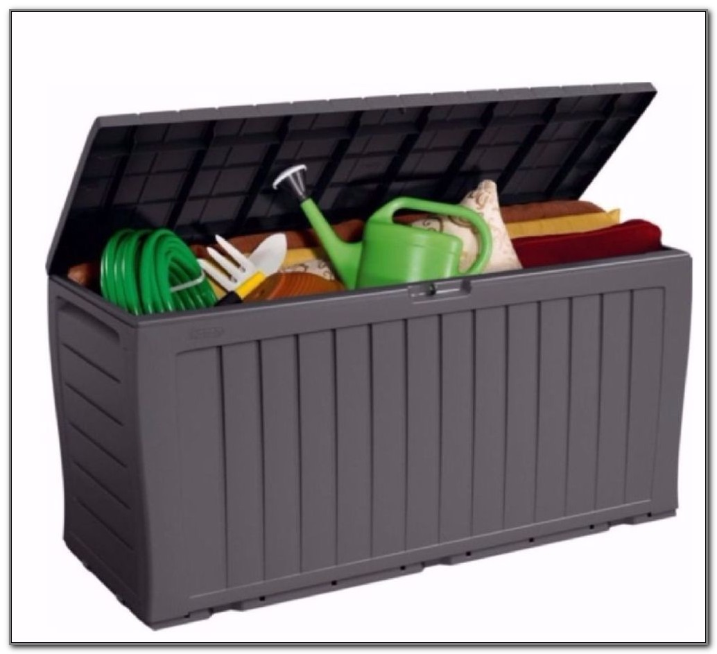 Small Outdoor Storage Box Plastic