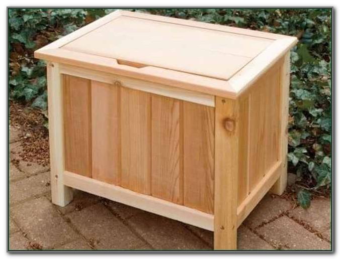 Small Outdoor Storage Box Waterproof
