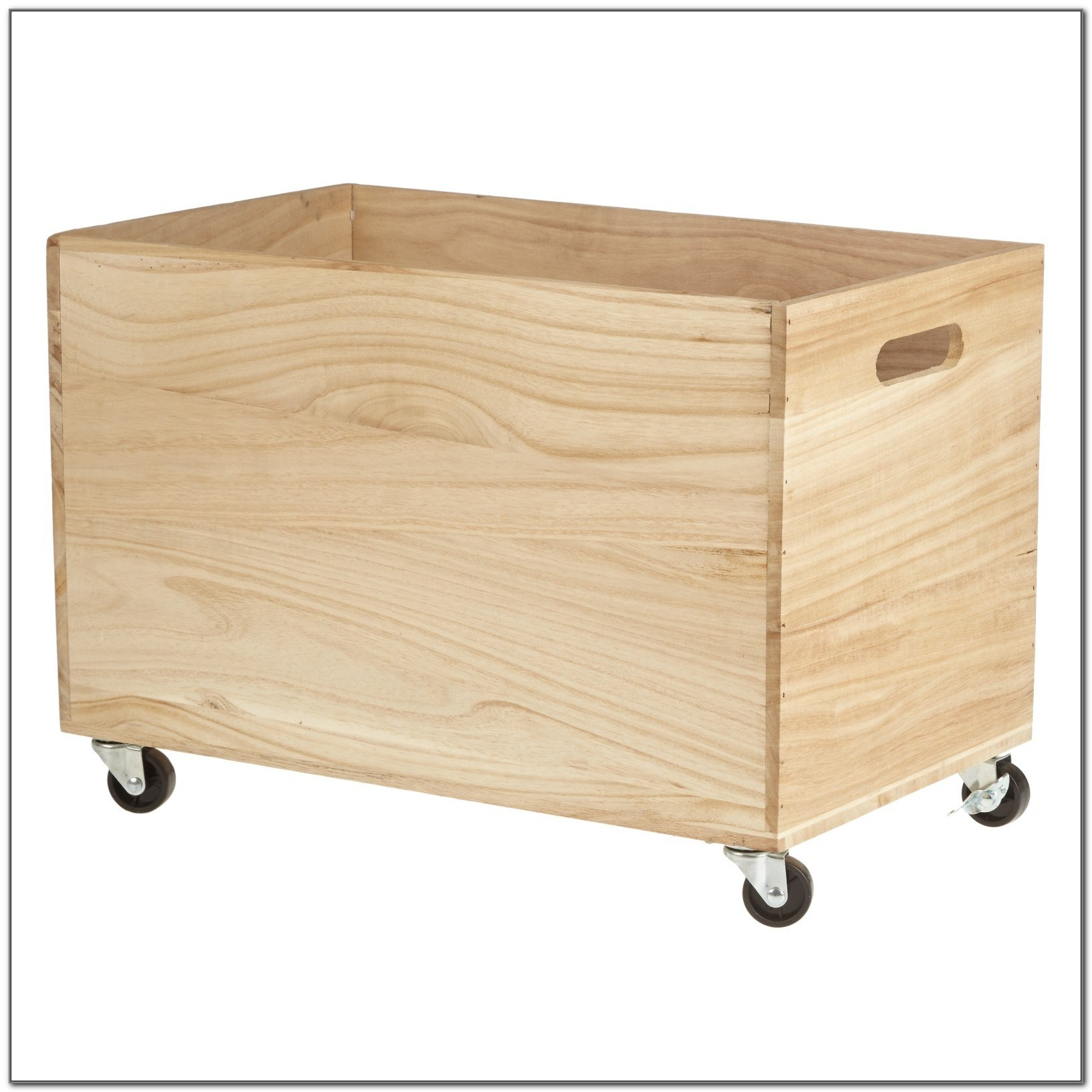 Small Outdoor Storage Box Wood