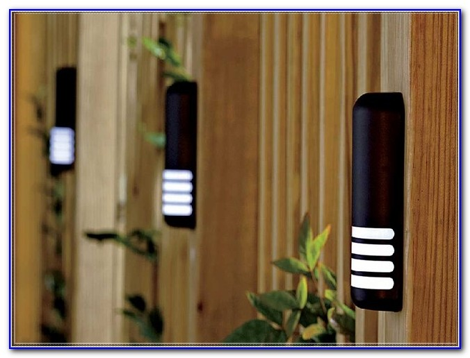 Solar Deck Lights Outdoor