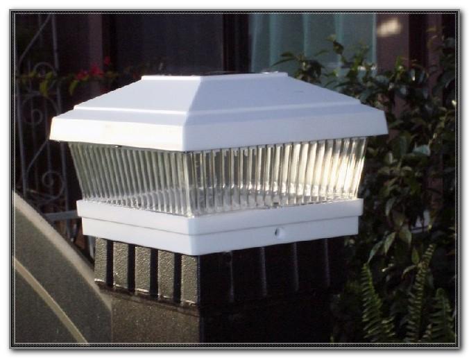 Solar Deck Post Lights 6x6