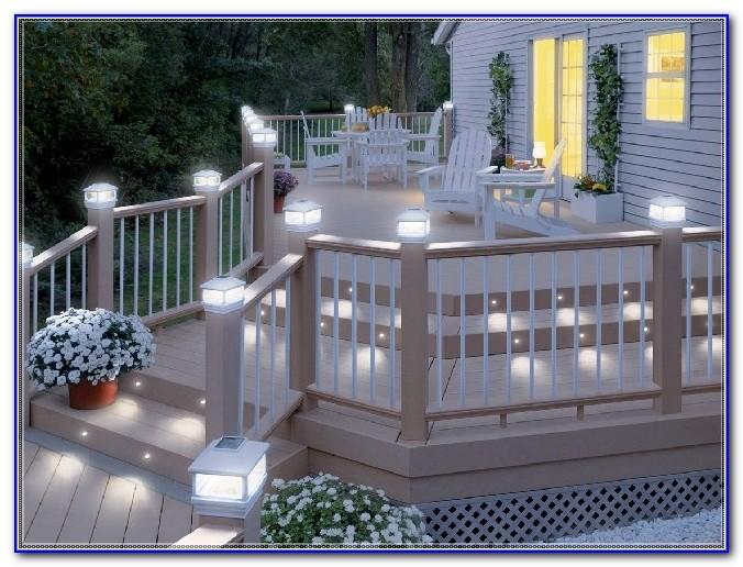 Solar Deck Rail Lights