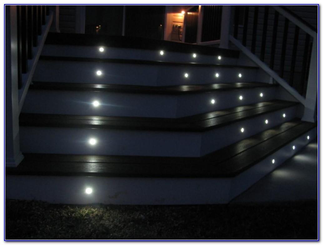 Solar Deck Stair Lighting