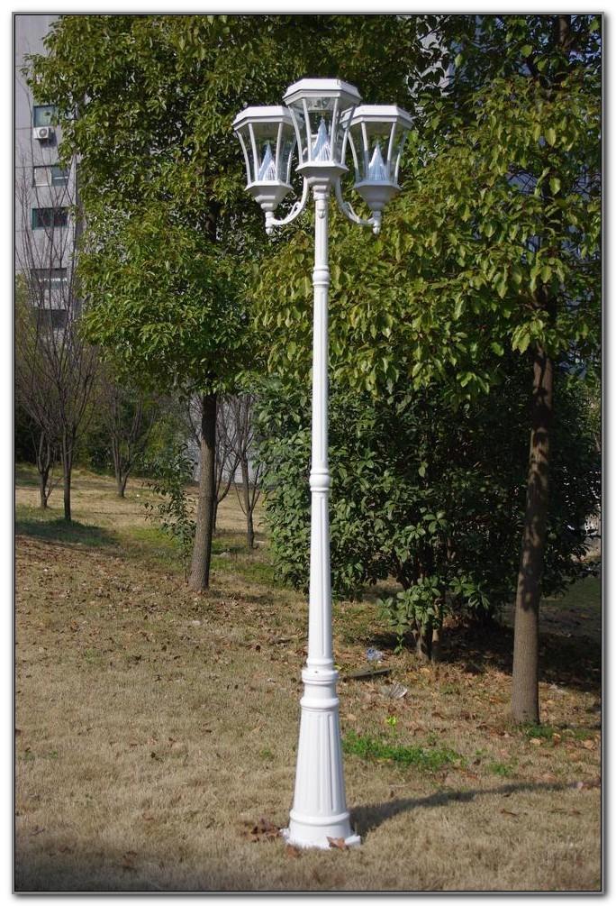 Solar Lamp Post Light Fixture