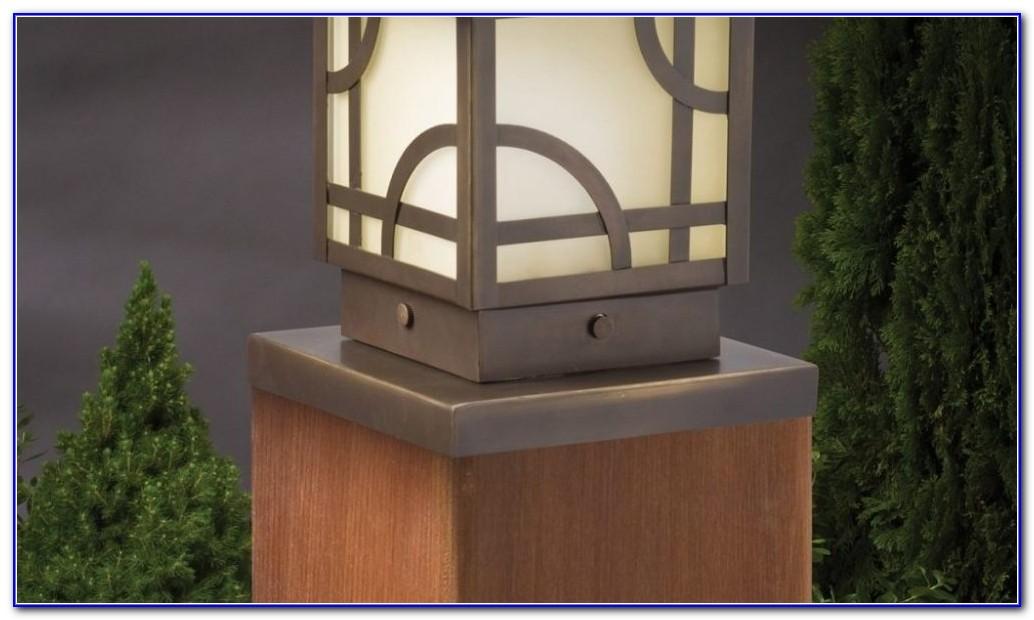 Solar Led Deck Post Lights