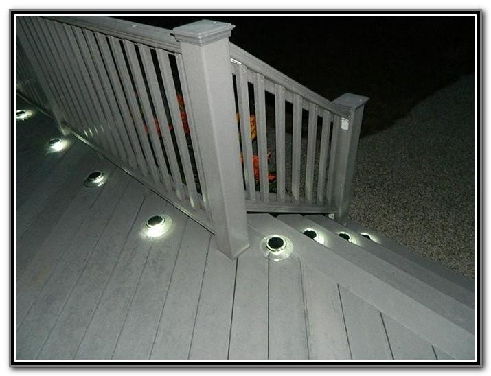 Solar Lighting For Deck Steps