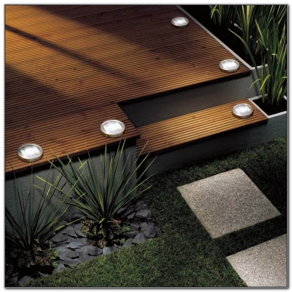Solar Lighting For Decks
