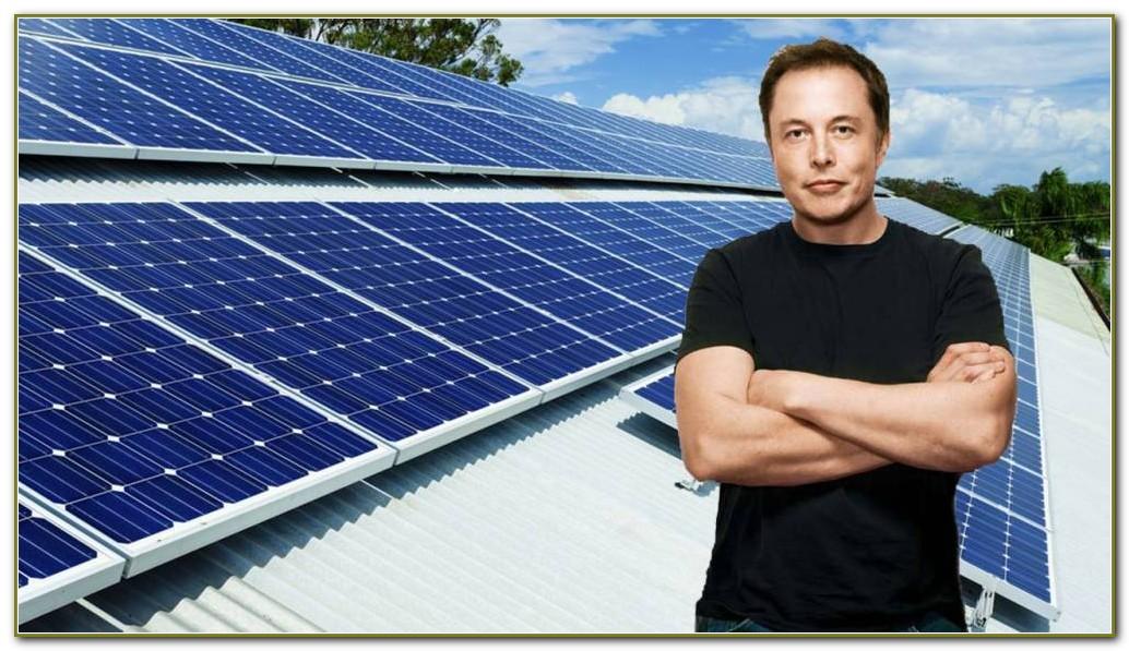 Solar Panel Roof Tiles Elon Musk