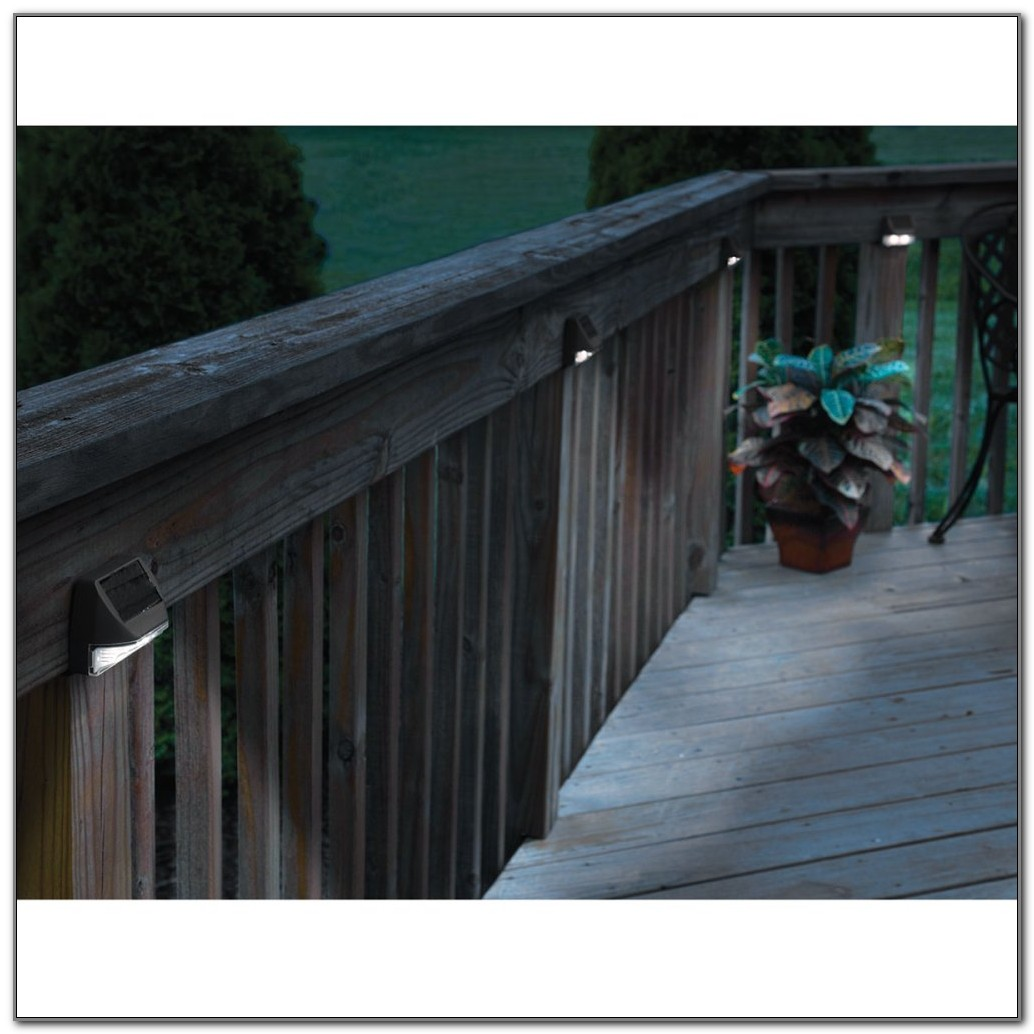 Solar Post Lights For Decks