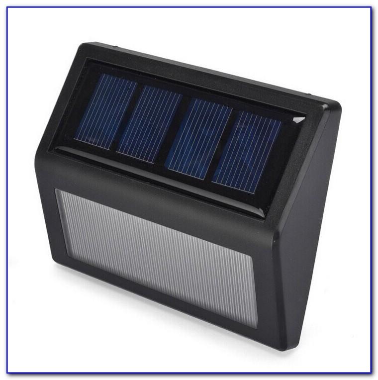 Solar Powered Deck Lighting