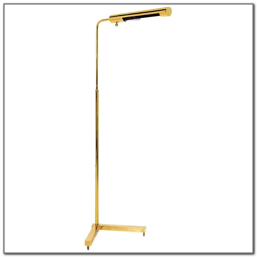Solid Brass Pharmacy Floor Lamp