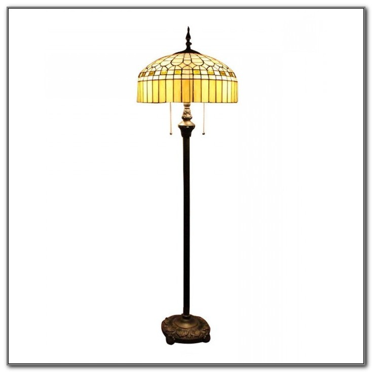 Stained Glass Floor Lamp Base