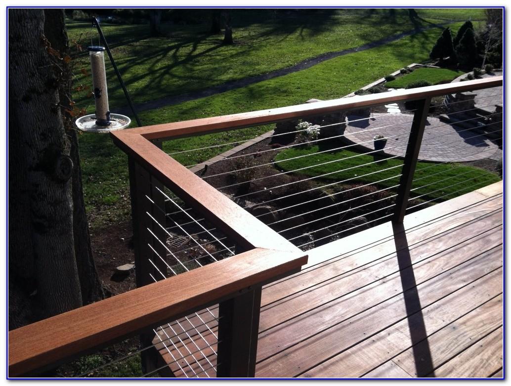 Stainless Steel Deck Railing