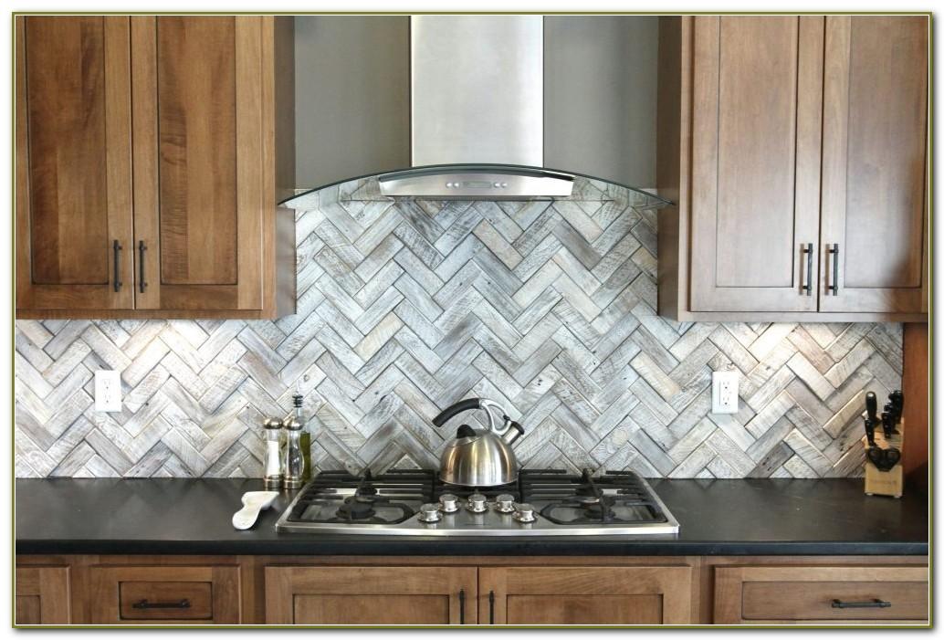 Stainless Steel Tiles Backsplash