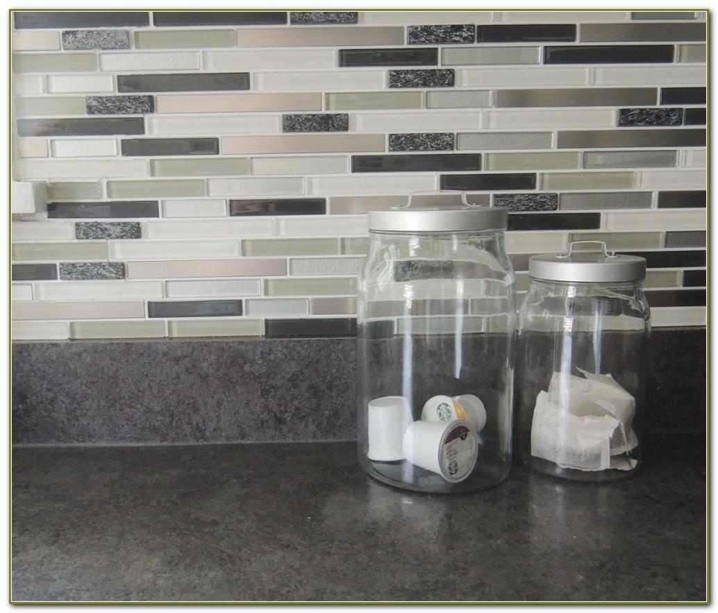 Stick On Tiles Backsplash For Kitchen