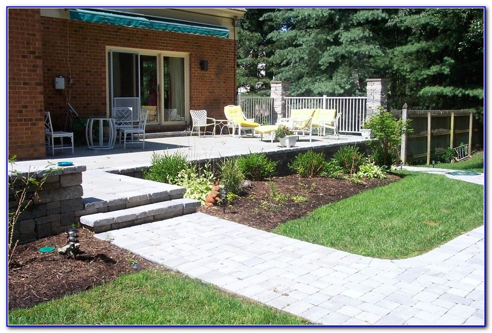 Stone Patios And Decks