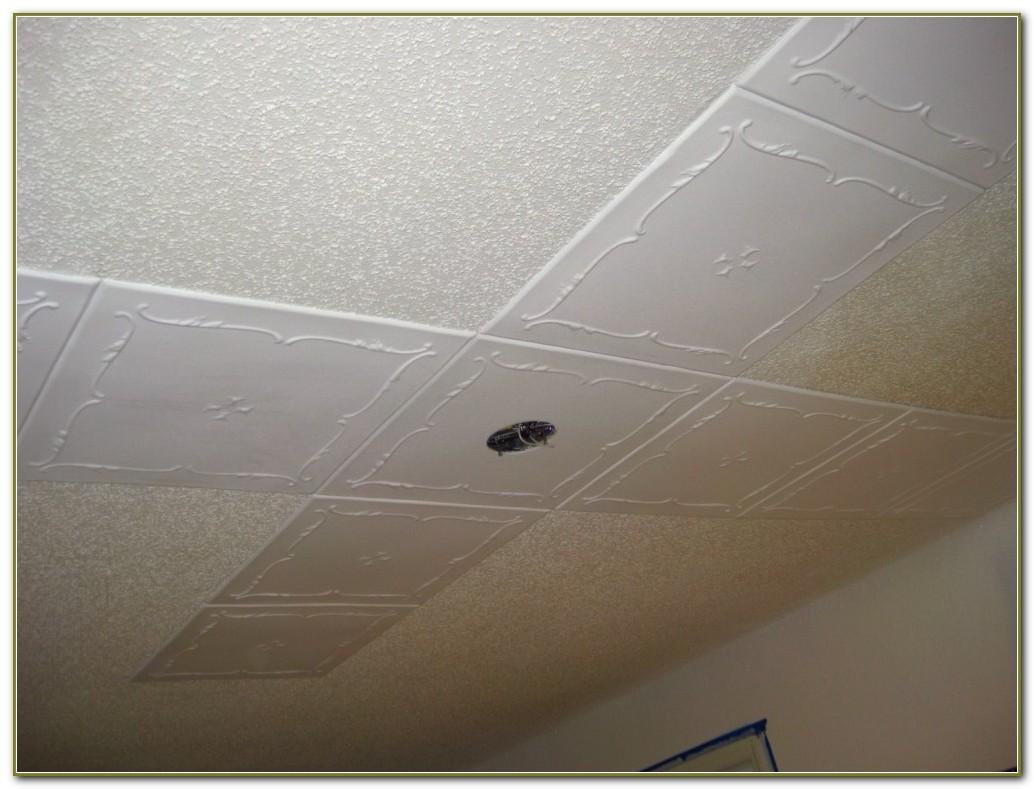 Styrofoam Ceiling Tiles Home Depot