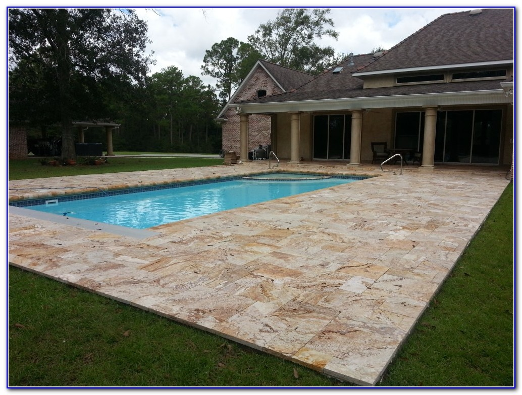 Swimming Pool Deck Pavers