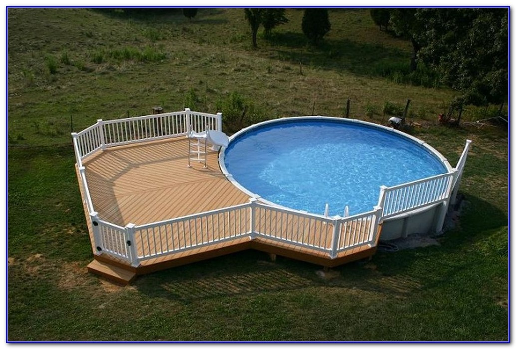 Swimming Pool Decks For Above Ground Pools