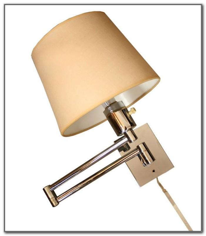 Swing Arm Lamps Wall Mount Plug In