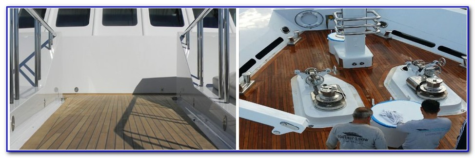 Teak Decking Systems For Boats