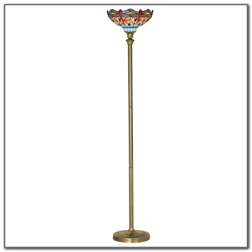 Tiffany Dragonfly Uplighter Floor Lamp