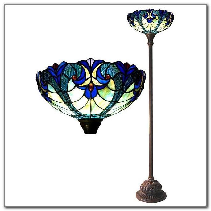 Tiffany Torchiere Floor Lamp
