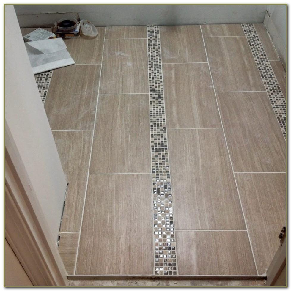 Tile Floor Patterns For Bathrooms