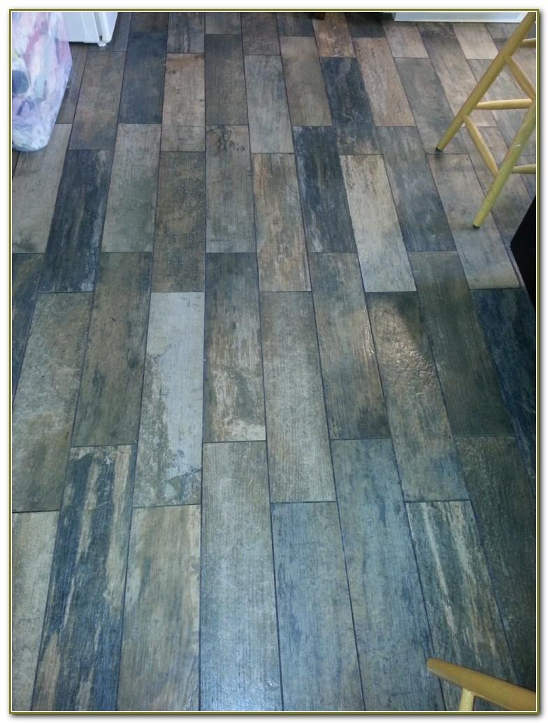 Tile Flooring Looks Like Wood Planks