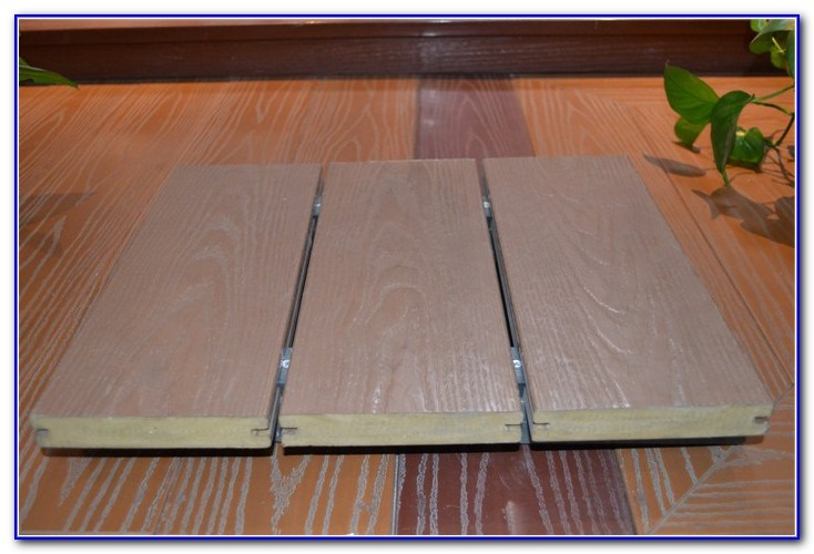Tongue And Groove Pvc Decking