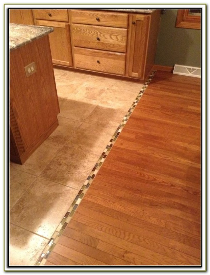 Transition From Bathroom Tile To Wood Floor