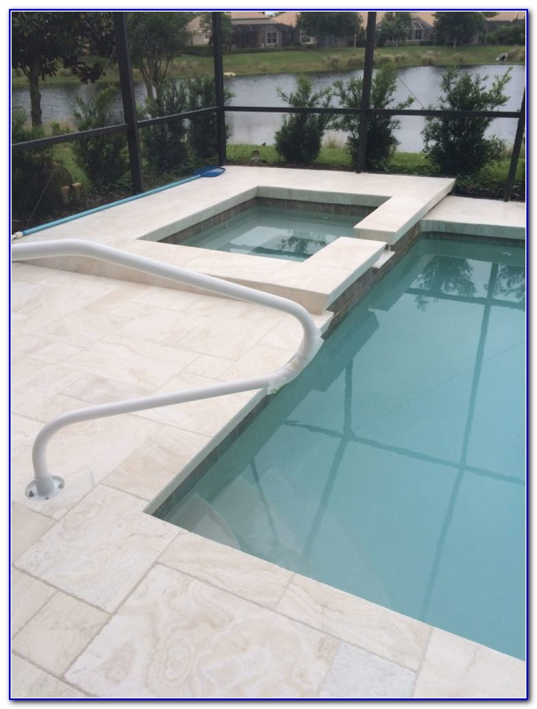 Travertine Stone Deck Tiles