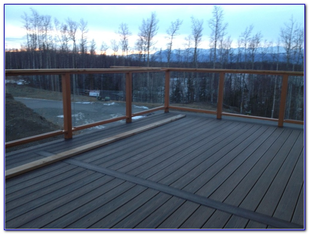 Trex Deck Glass Railing