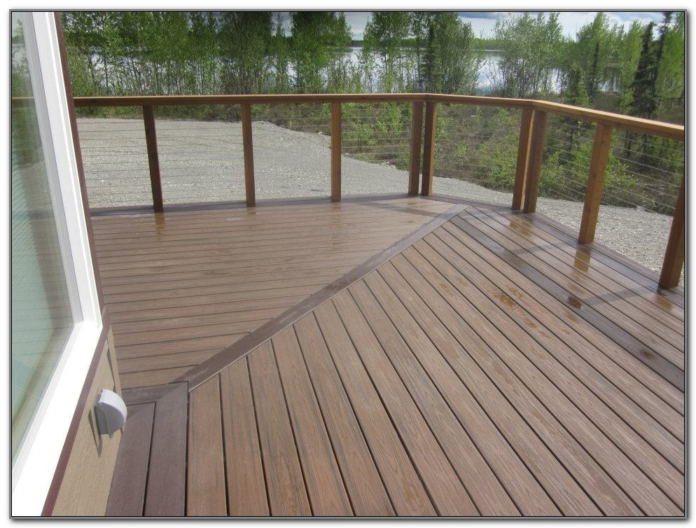 Trex Deck With Cable Railing
